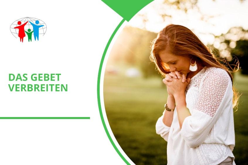 Das Gebet verbreiten