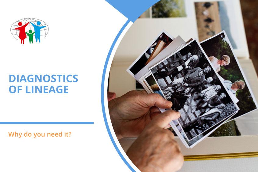 Diagnostics of lineage