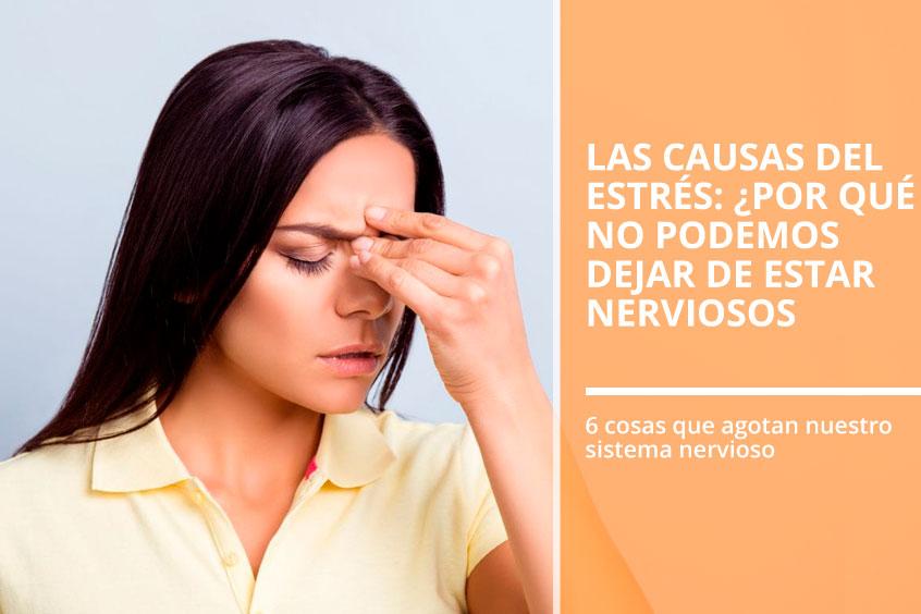 Las causas del estrés