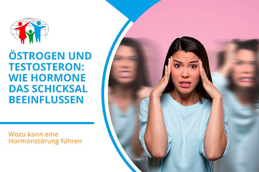 Östrogen und Testosteron