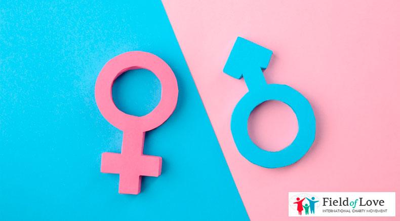 Estrogen and testosterone